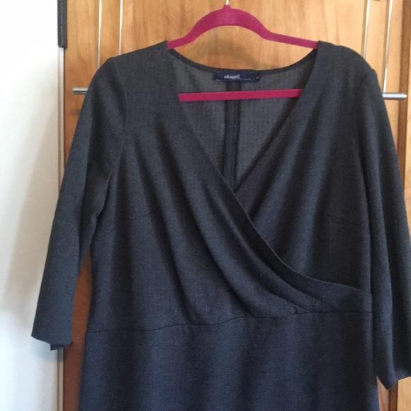Eloquii Dresses & Skirts - Perfect work dress! Subtle houndstooth pattern.
